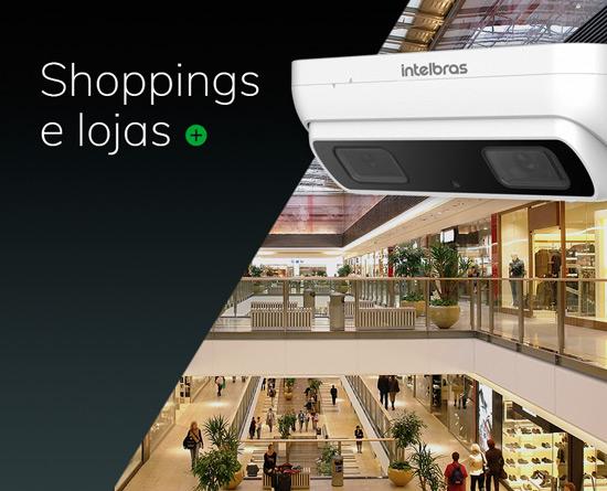 Shoppings e lojas